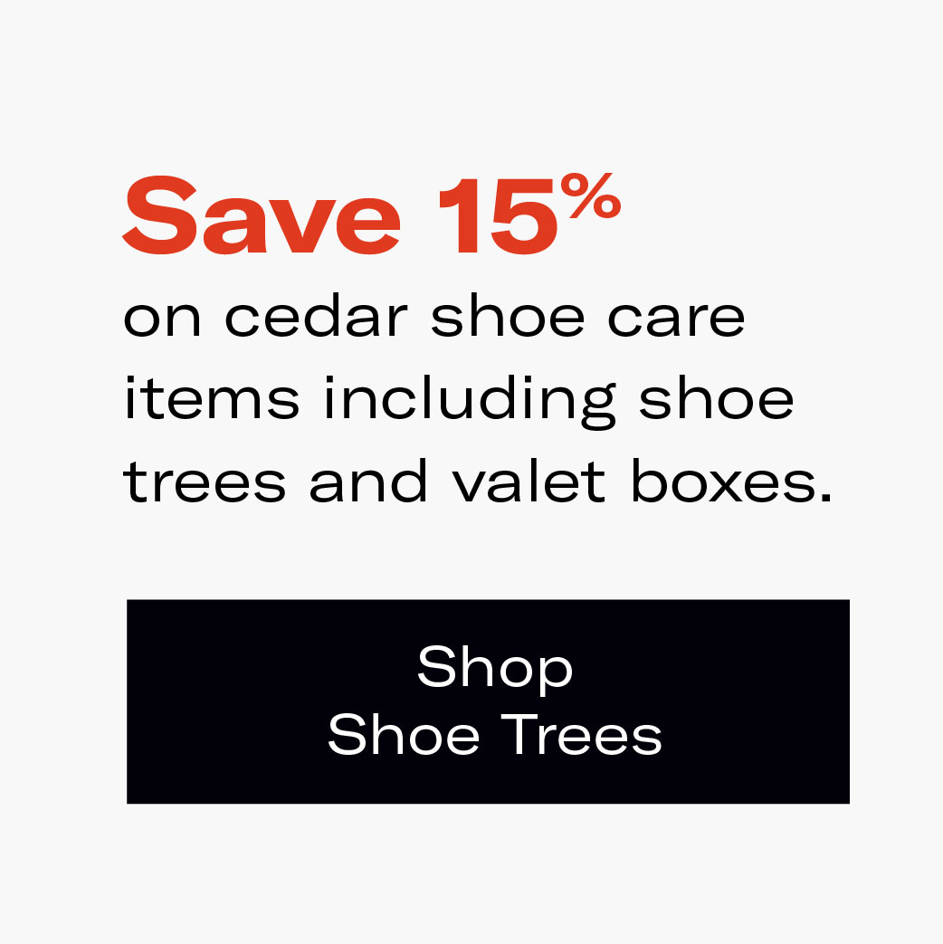 Save 15% on Cedar Shoe Trees