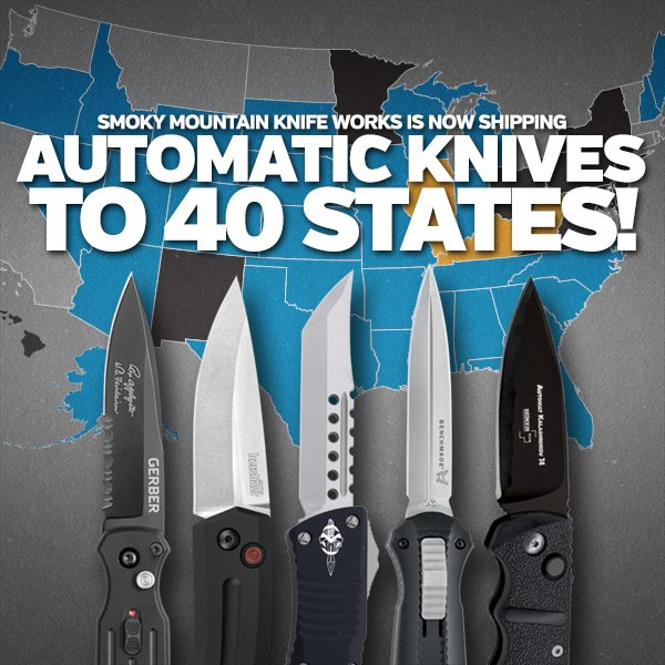 See our full selection of Automatic Knives!