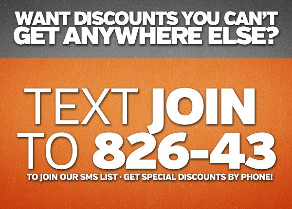 #SMKWArmy Text Join to 826-43 to join our sms list and get discounts by phone!