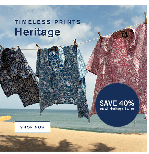 Timeless Prints. Heritage
