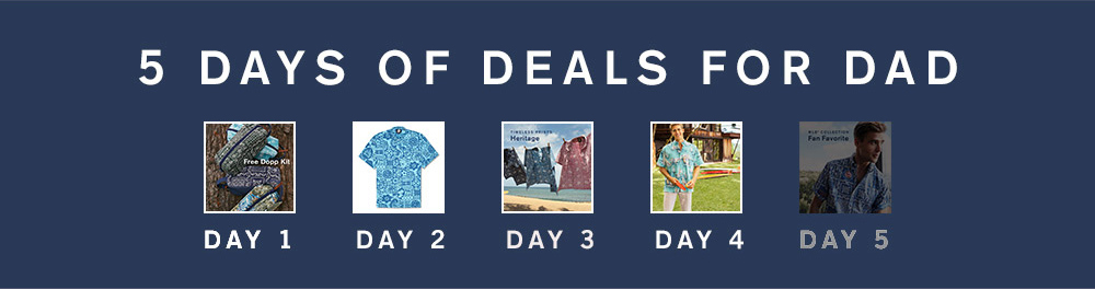 5 Days Of Deals For Dad