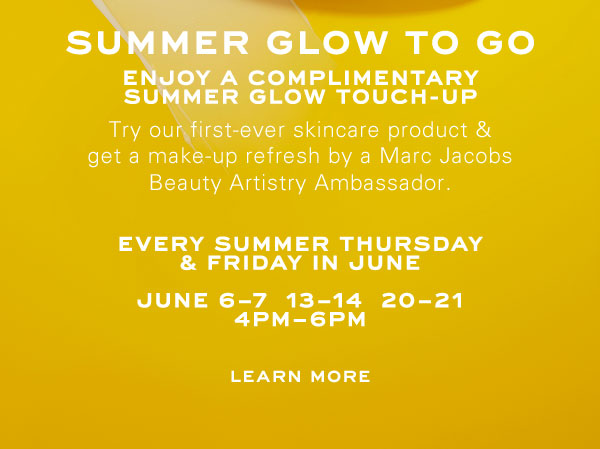 Enjoy a complimentary summer glow touch-up at Madison