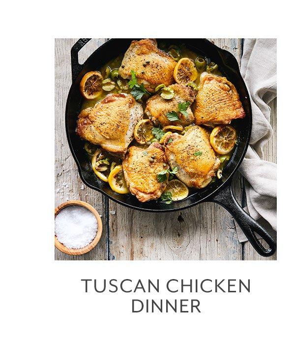 Class: Tuscan Chicken Dinner