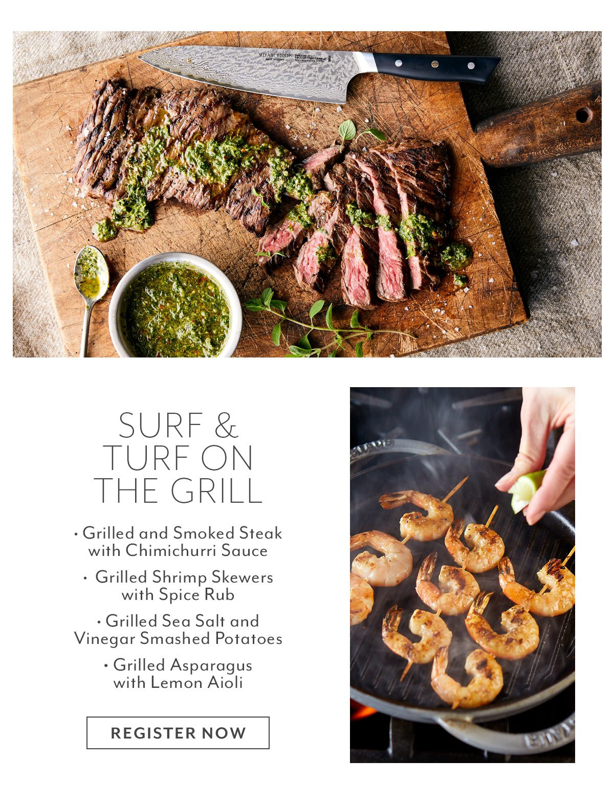 Class: Surf & Turf on the Grill