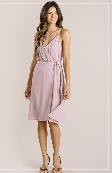 Gwyneth Dusty Violet Flowy Midi Dress