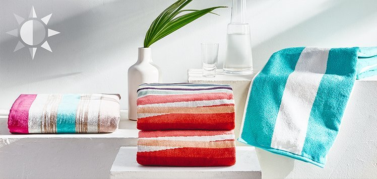 Starting at $19.99 Statement Beach Towels