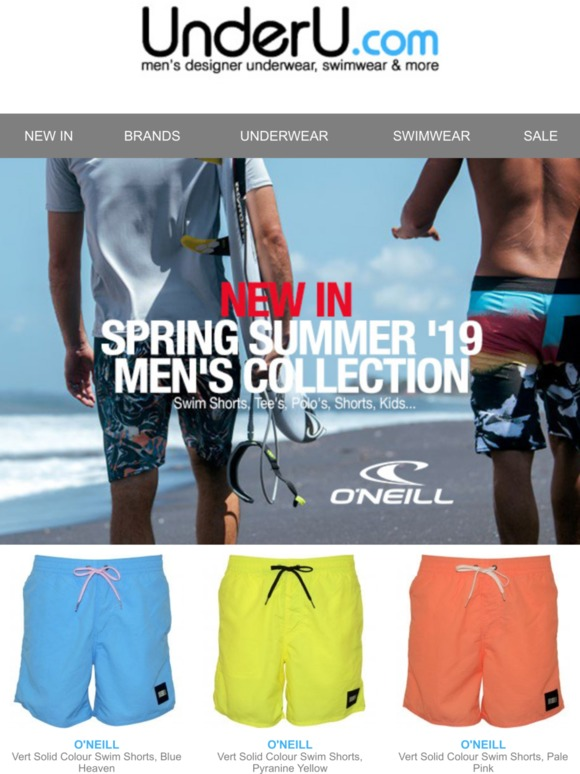 3ee22ce110 Under U: New-In. O'NEILL Spring Summer '19 Collection. Swim Shorts, Tee's,  Polo's, Shorts, Kids, ... | Milled