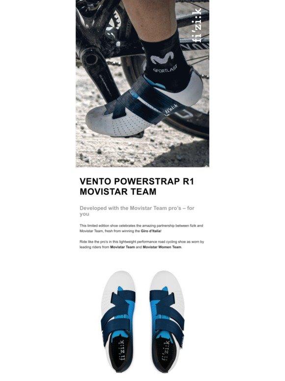 Fizik: Introducing Vento Powerstrap R1