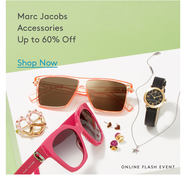 Marc Jacobs | Accessories | Up to 60% Off | Shop Now | Online Flash Event