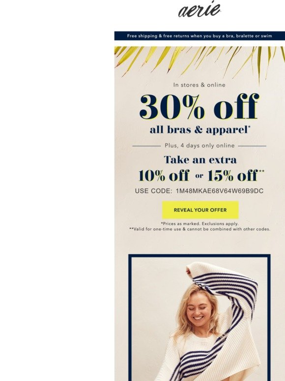 American Eagle Surprise Your Mystery Offer Is Inside Milled