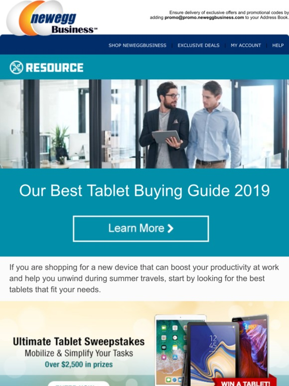 Newegg Business: Your Resource - Our Best Tablet Buying