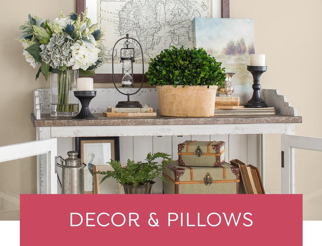 Decor & Pillows