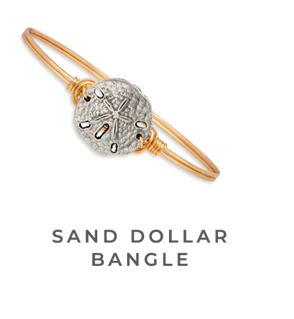 SAND DOLLAR BANGLE