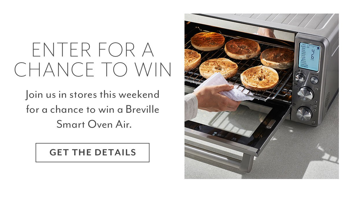 Breville Giveaway - Get The Details
