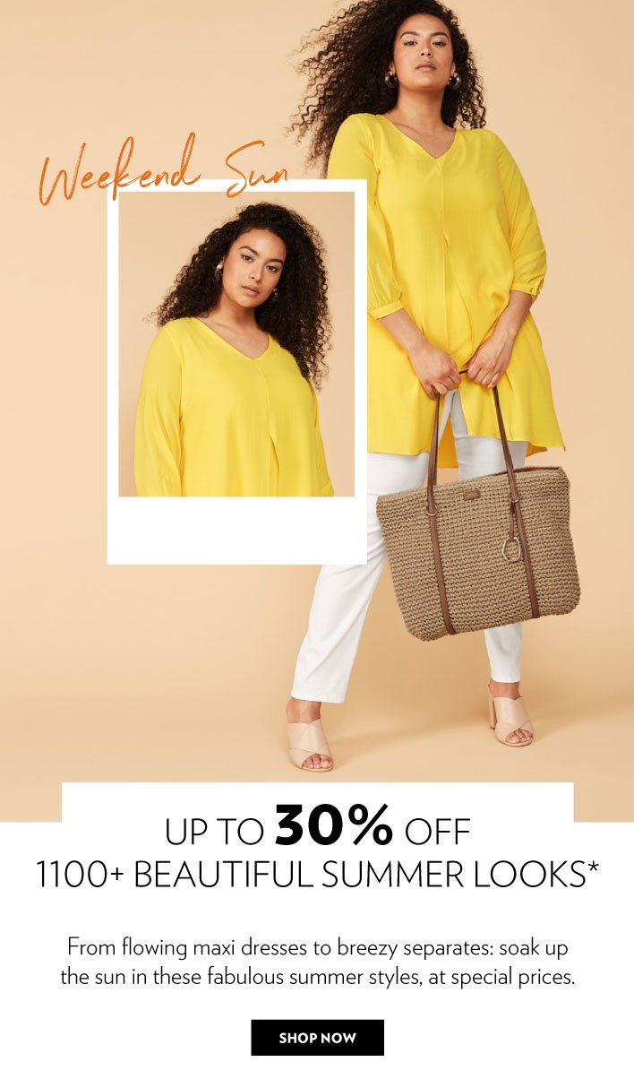 Saturday Sun | Up to 30% off 1100+  summer looks*