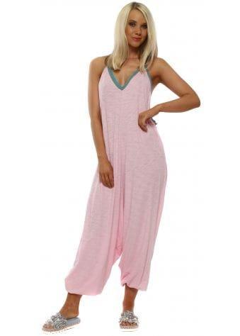 Light Pink Pima Inca Jumpsuit