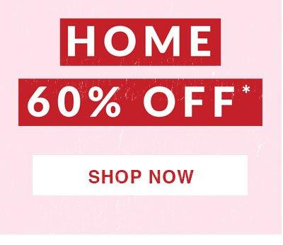 Shop 60% Off Home