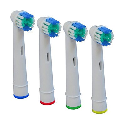 20 Pcs Electric Tooth brush Replacement Heads Fit For Braun Oral-B Cross Action