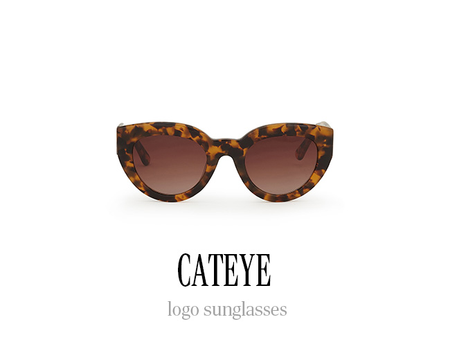 CATEYE logo sunglasses