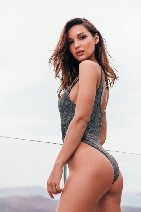 Storm Silver Swimsuit