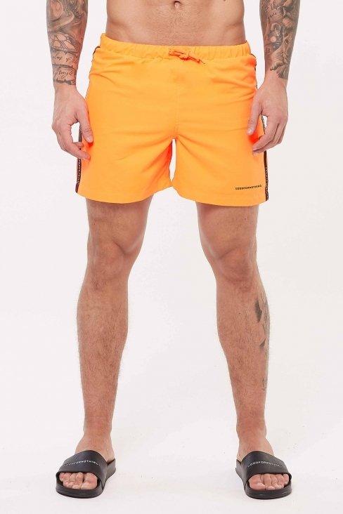 Future Orange Swim Shorts