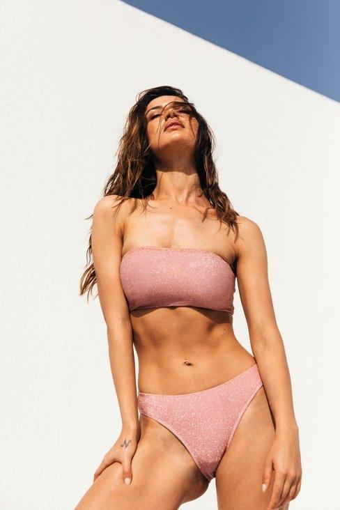 Radiance Pink Bikini Bottom