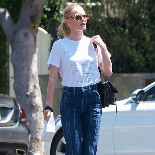 How 6 Celebrities Make a T-Shirt and Jeans Look Expensive