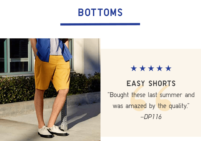 BODY3 - MEN EASY SHORTS