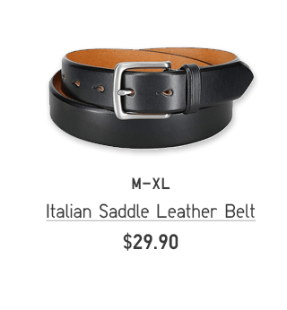 BODY4 CTA1 - MEN ITALIAN SADDLE LEATHER BELT