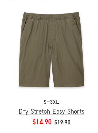 BODY3 CTA1 - MEN DRY STRETCH EASY SHORTS