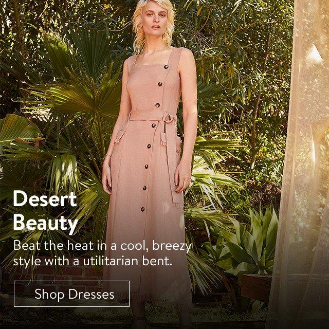 Women's desert beauty dresses.
