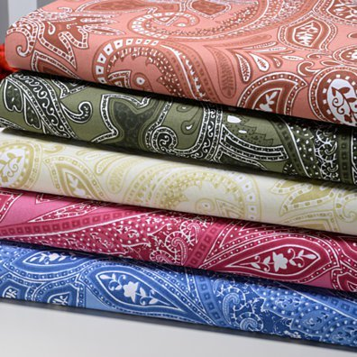 Paisley Collection 500 Thread Count Printed Egyptian Cotton Sheet Set - 5 Colors