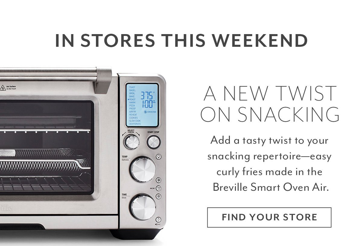 In-Store Breville Demo: Curly Fries
