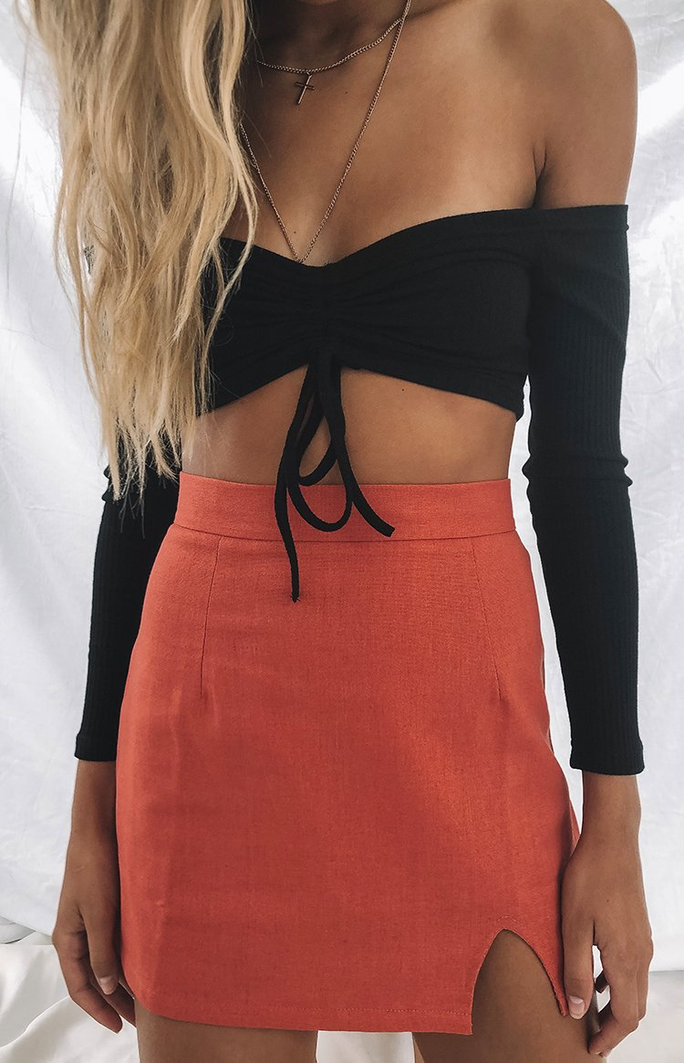 Milan Skirt Rust