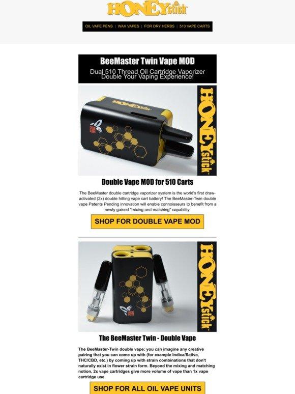 VPR Brands, LP: Dual Cartridge Vape MOD - Double Your Vaping