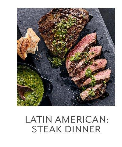 Class: Latin American • Steak Dinner