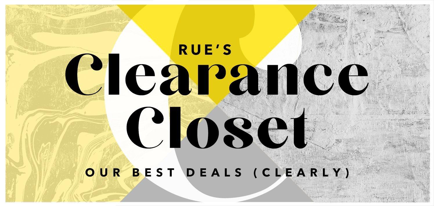 Rue's Clearance Closet