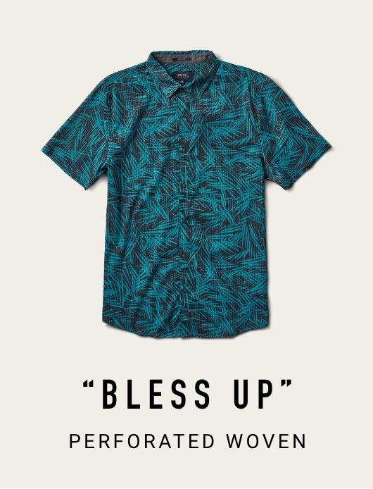 BLESS UP PERFORATED WOVEN