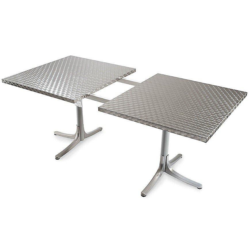 Inox Table, Extendable