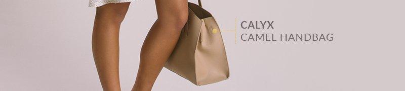 Calyx Camel Handbag