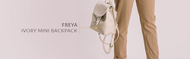 Freya Ivory Mini Backpack
