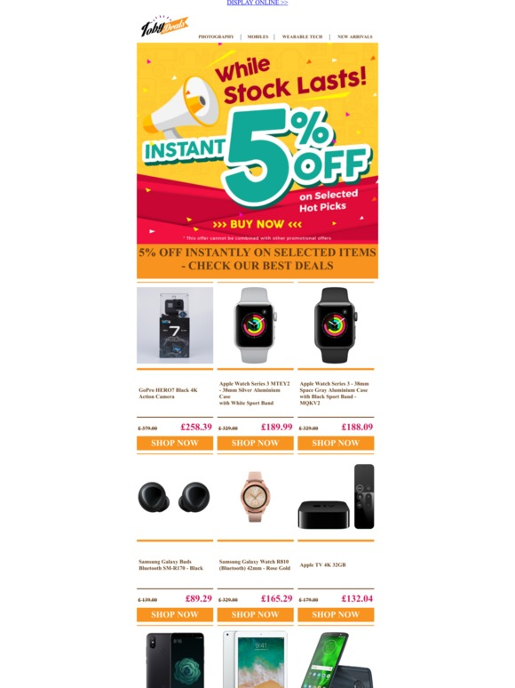 Toby Deals All Your Electronics Need At Market Beat Price Email Newsletters Shop Sales Discounts And Coupon Codes Page 5
