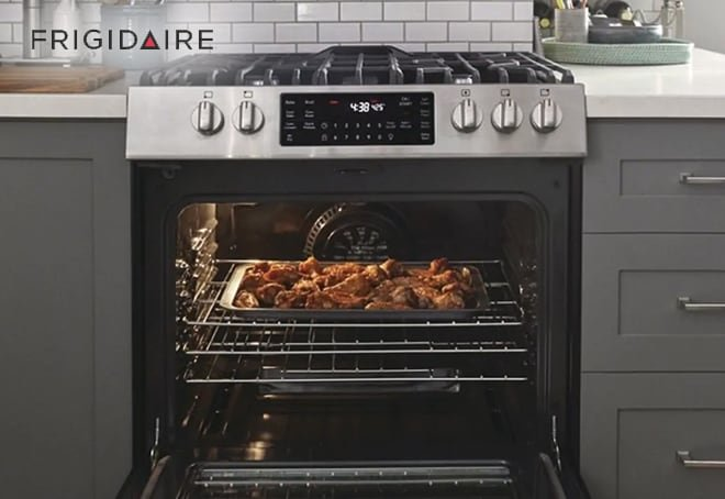 frigidaire air fry oven