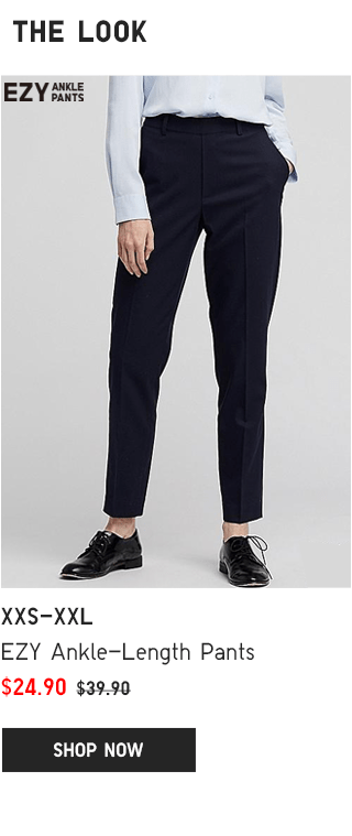 BODY1 PDP2 - WOMEN EZY ANKLE-LENGTH PANTS