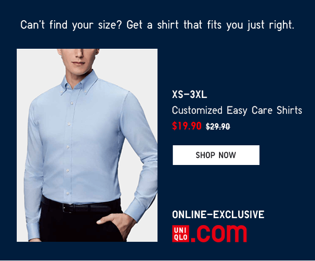 BODY2 - MEN CUSTOMIZED EASY CARE SHIRTS