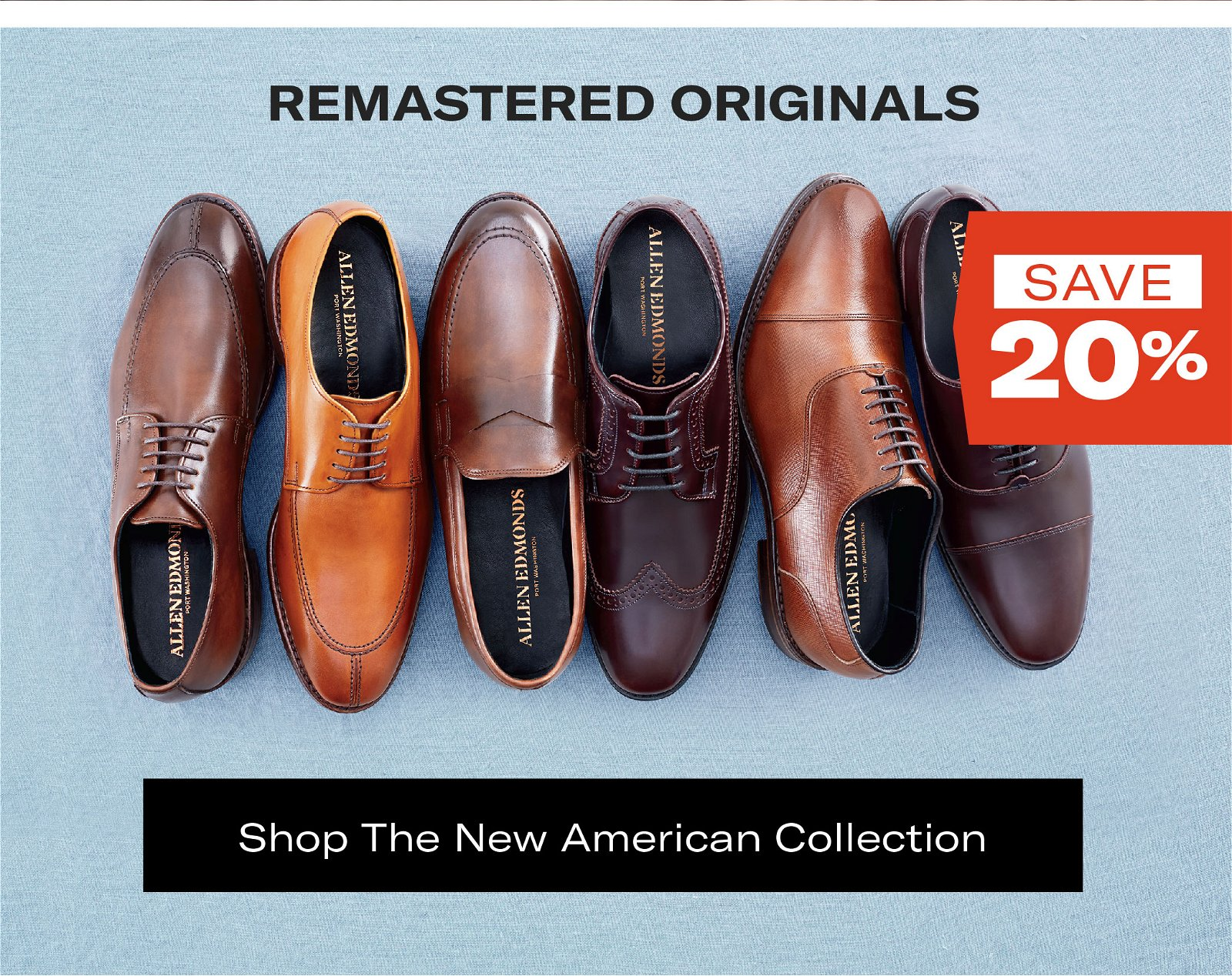 Save 20% on the New Americans Collection