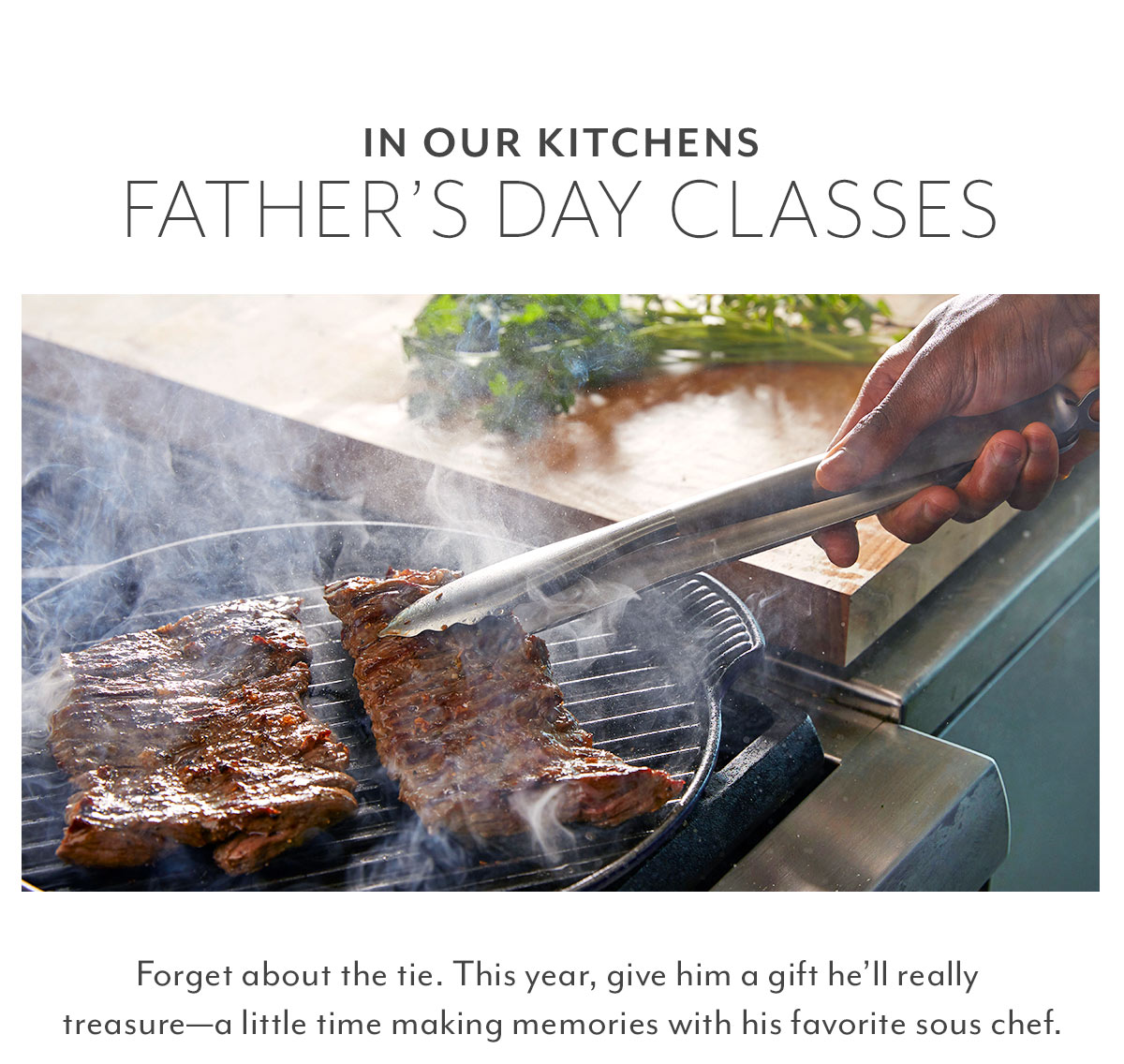 Father's Day Cooking Classes