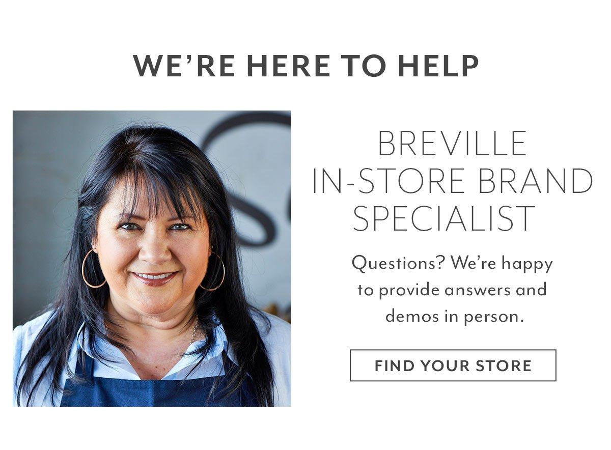 Breville In-Store Brand Specialist