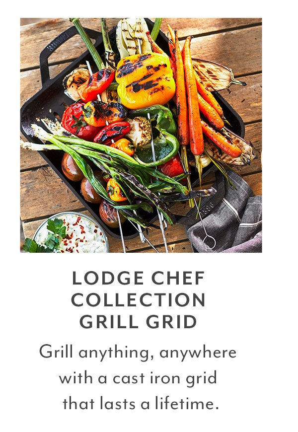 Lodge Chef Collection Grill Grid