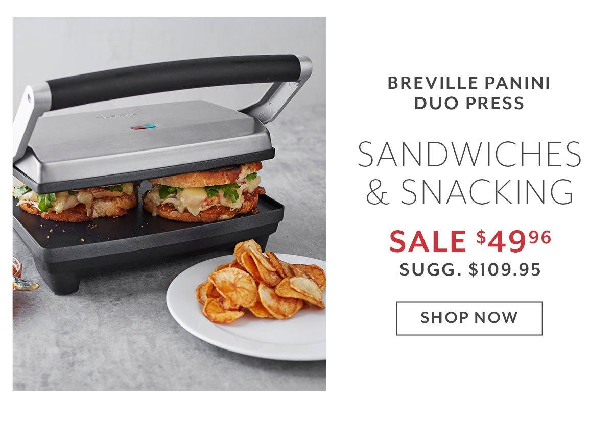 Breville Panini Duo Press